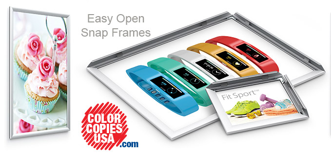 Snap Frames: A New Framing Solution for Artwork, Posters and Other Graphics!