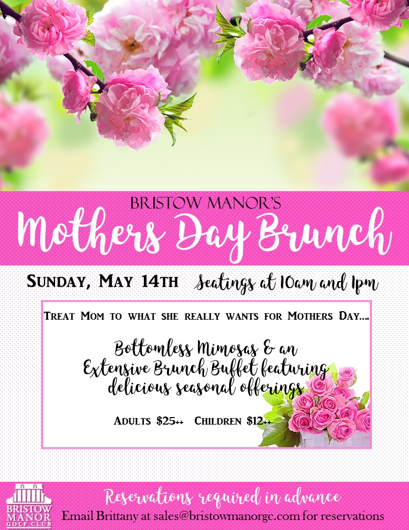 Mothers day banner flyer