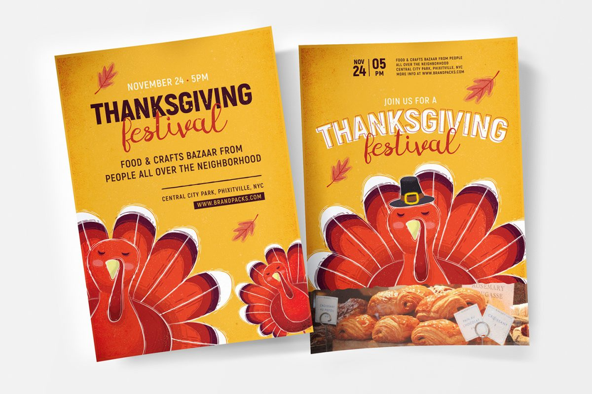 Tips for Thanksgiving Day Event, Catering, or Sales Promotions