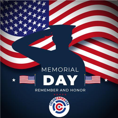 Memorial Day. Remember and Honor