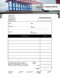 Basic NCR Form Bluewater Transport