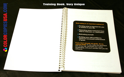 Creative design improves the success of the training book