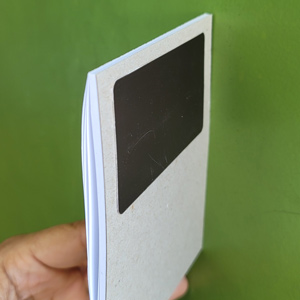 notepad with a magnetic strip applied as a sample