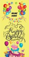 Happy Birthday  Mini Poster