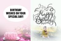 Birthday Greetings Card