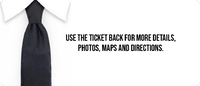 Black Tie- Bachelor Party Event Ticket