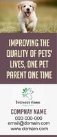 Pet Rectractable banner