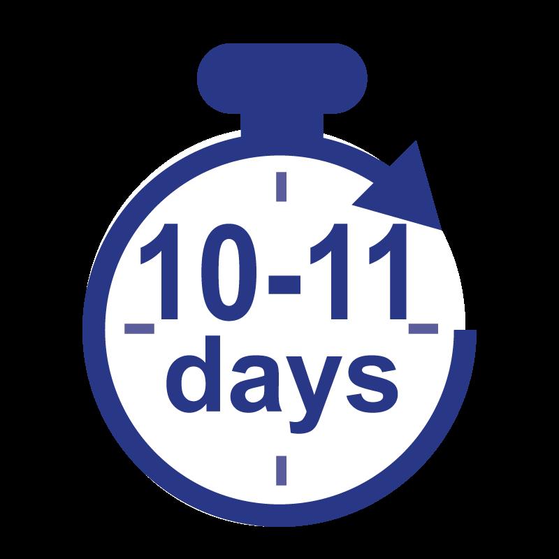 Standard (10 - 11 Business Days)