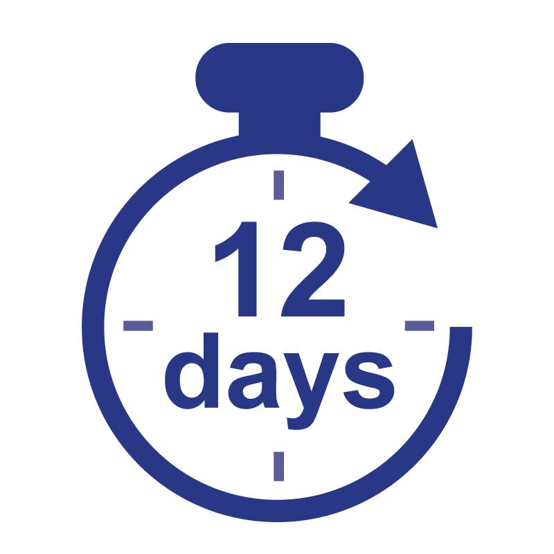 Standard (12 days)