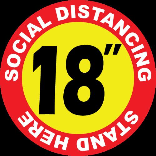 "18"" Diameter"