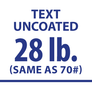 28# Uncoated