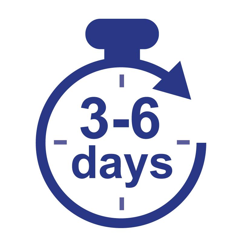 3-6 Business Days