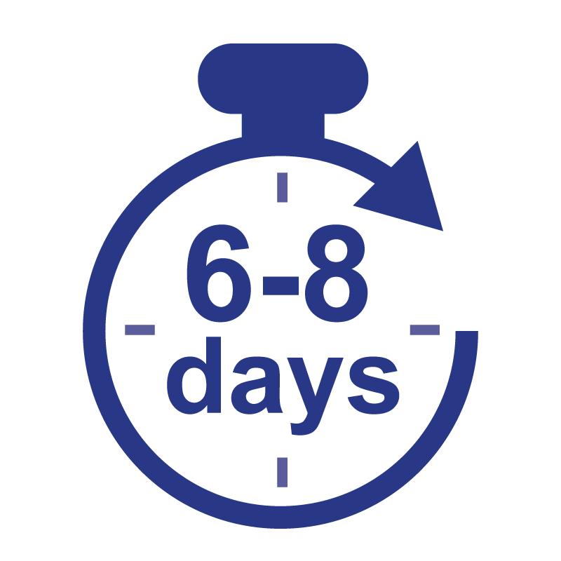 6-8 Business Days