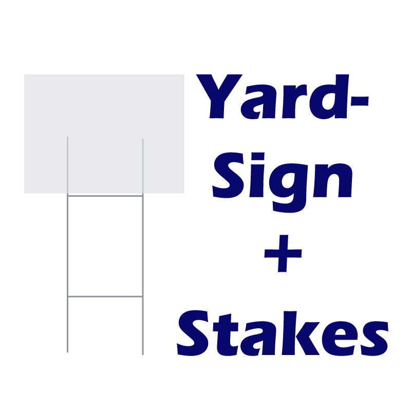 Signs + Stake