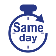 Rush- Same day - Order by 1pm