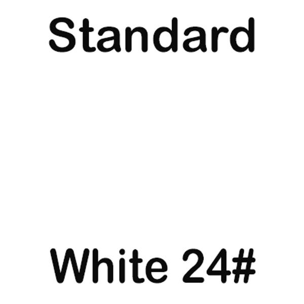 Standard 24 lb White Paper