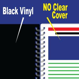 Black Back Plastic Only