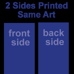 Front - Back - SAME Art