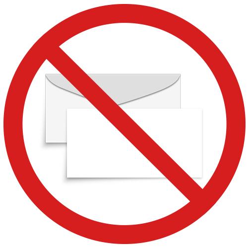 No  Envelopes