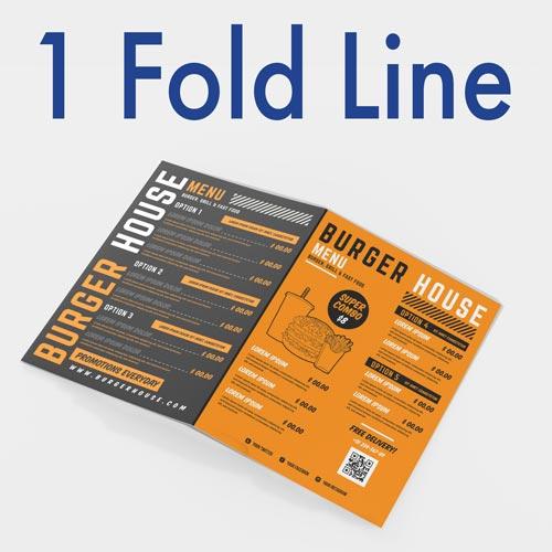 1 Folding Mark