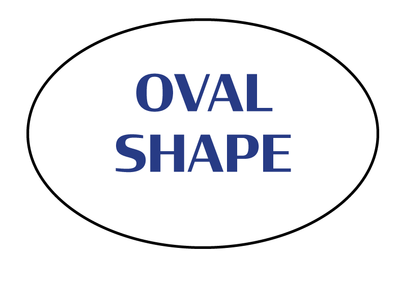 Oval Shaped