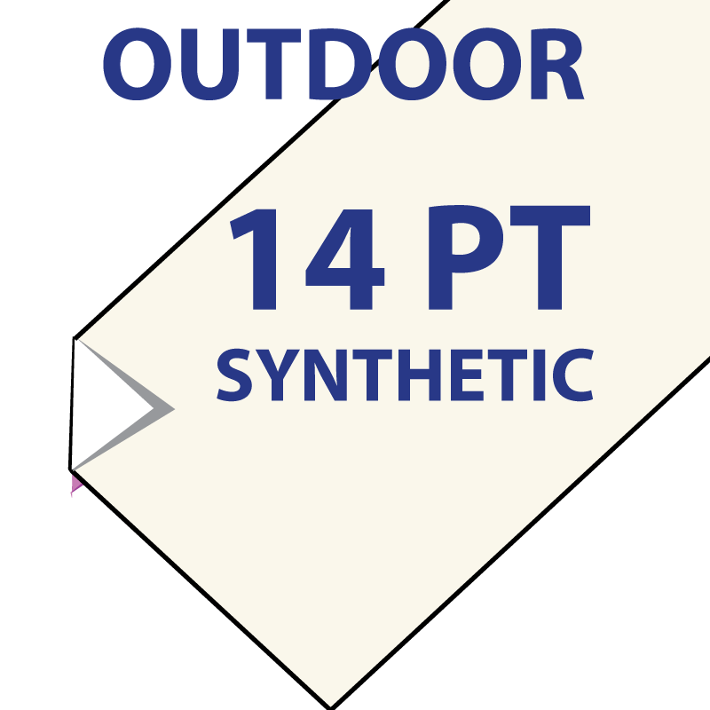 Synthetic - 14pt - Outdoor