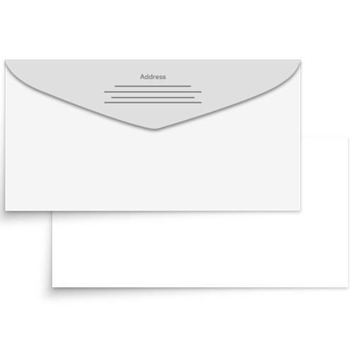 Yes: Print Return Address on Back Flap