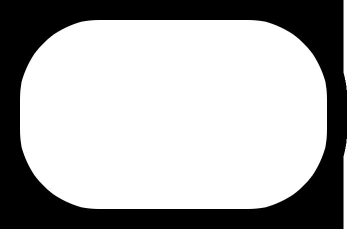 4 round corners 1/4