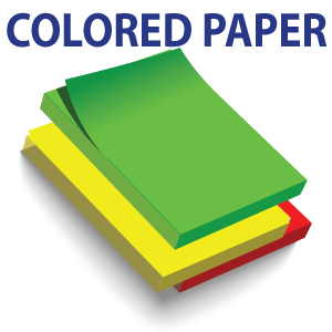 Standard Colored Text Paper