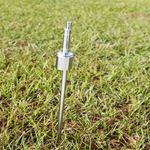 Flag holder: Ground Stake shown in-ground