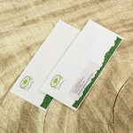 a set of one regular #10 envelope, and a #10 with left window envelope