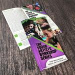 half fold brochures