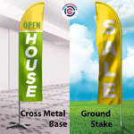 Ground Stake Vs Metal Cross Base