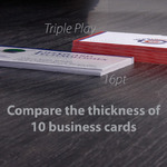 compare thickness of business cards
