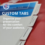 Custom tabs inserted in your book