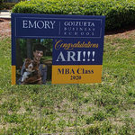 A graduation is an occasion never to be ignored. Celebrate it with custom yard signs! | ColorCopiesUSA