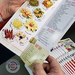 menus in the stage of folding and quality control | ColorCopiesUSA