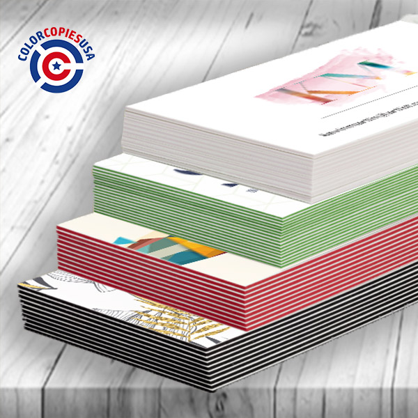 triple layer business cards with thickness ranging from 24pt to 38pt